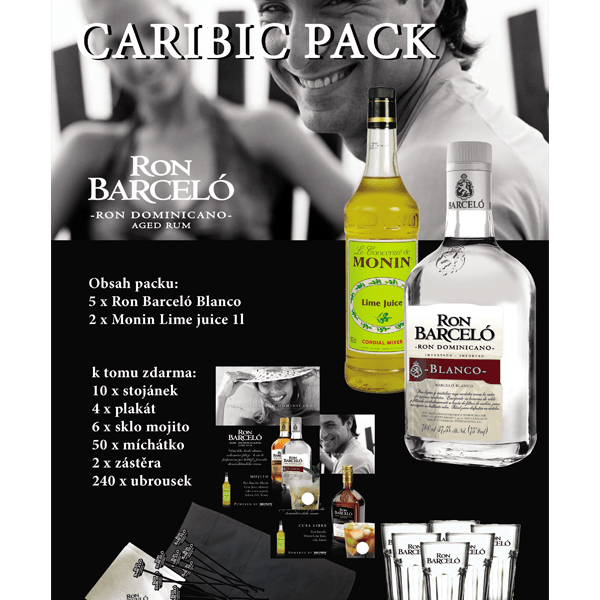 Ron Barceló Caribic Pack